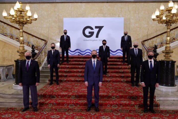 Foto: CNA, twitter.com/G7