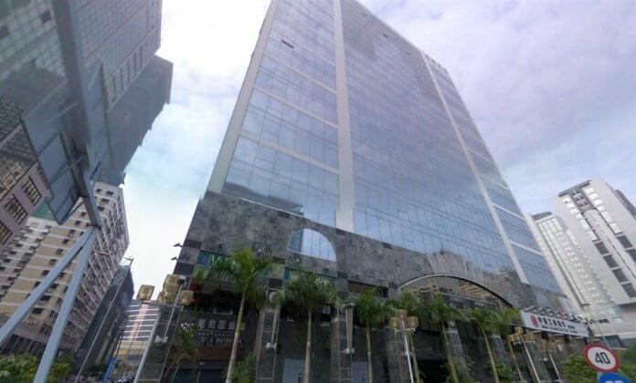 Foto: Stavba v kateri se nahaja tajvansko predstavništvo v Makau, CNA